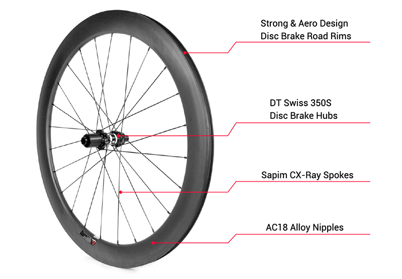 dt350 road disc brake wheels