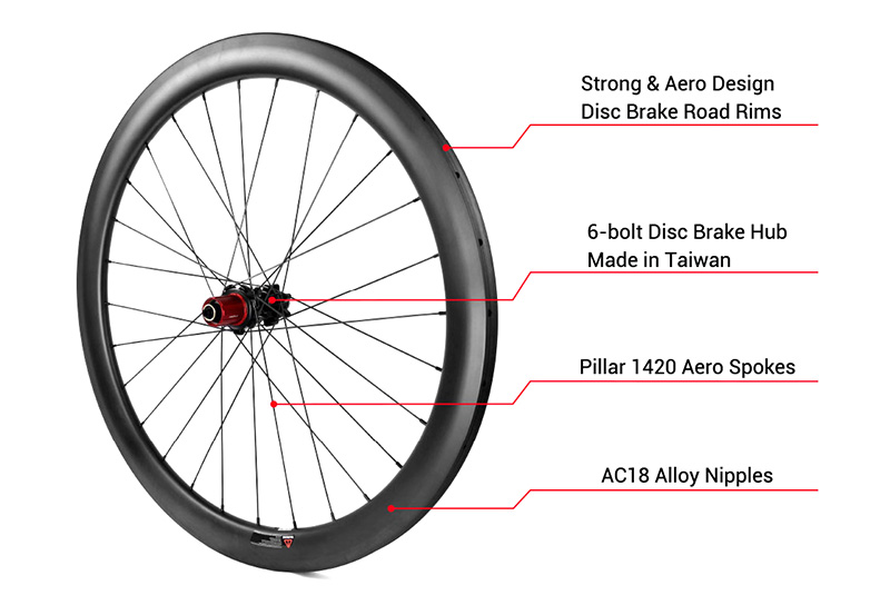 cheap carbon road disc wheels