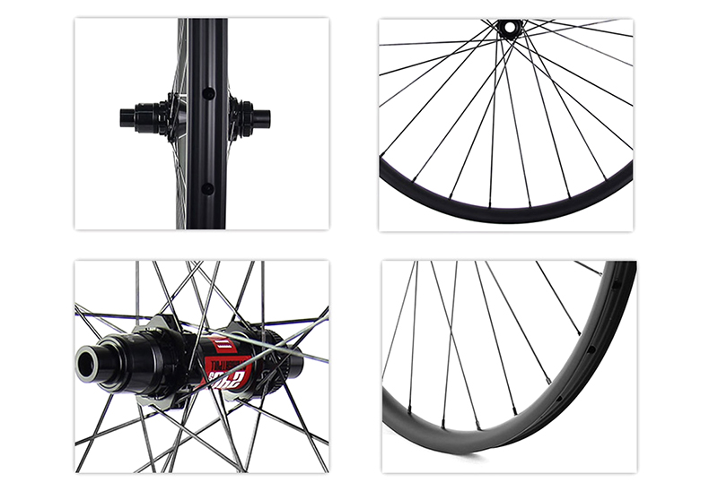 boost carbon mtb wheelsets DT240S