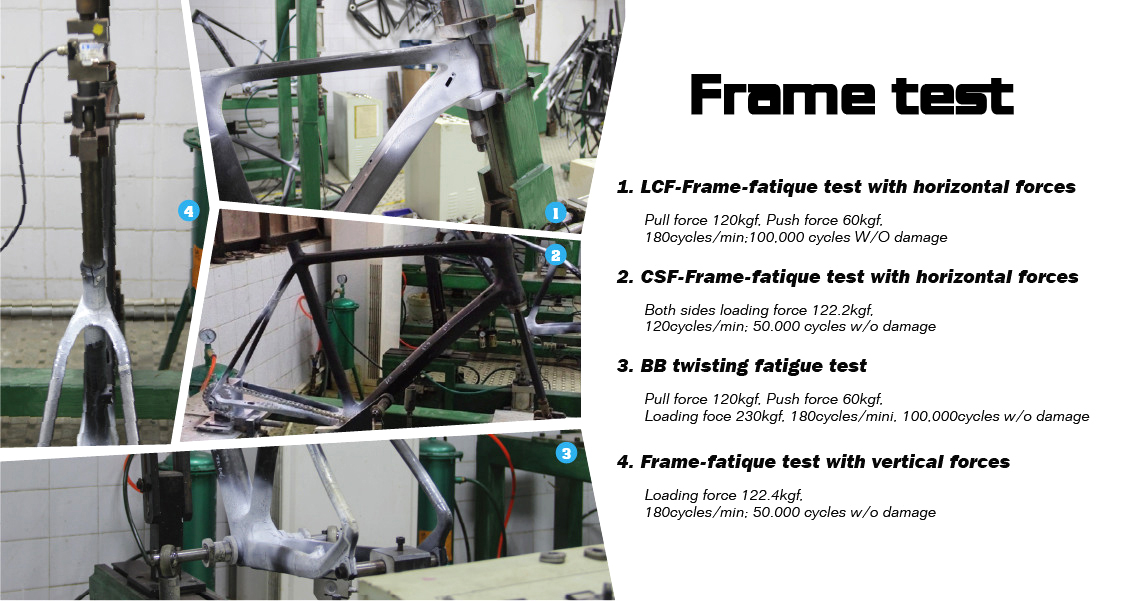 lightcarbon carbon frame test