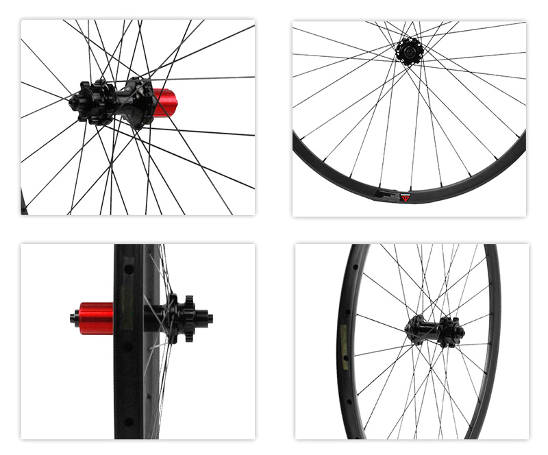 carbon mountain bike wheelset