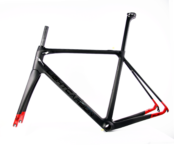 lightcarbon super light carbon frame