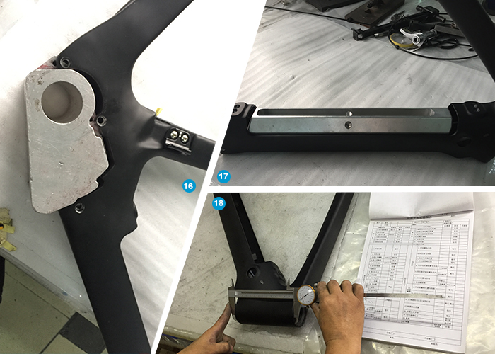 ebike frame motor system and battery mount check