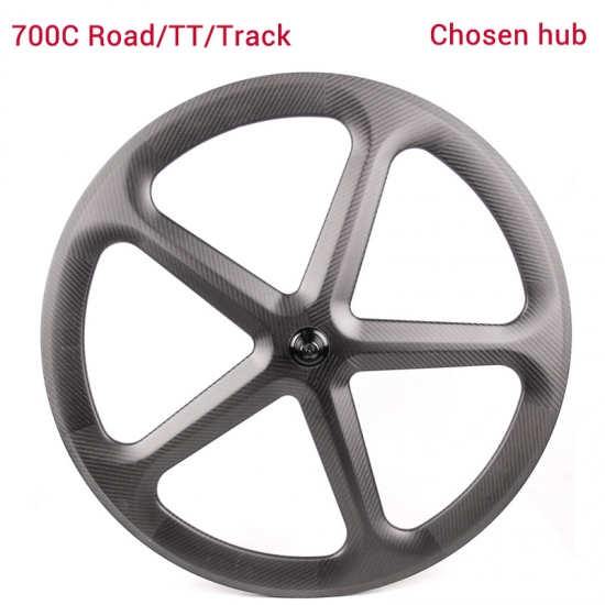 5-spoke carbon wheel