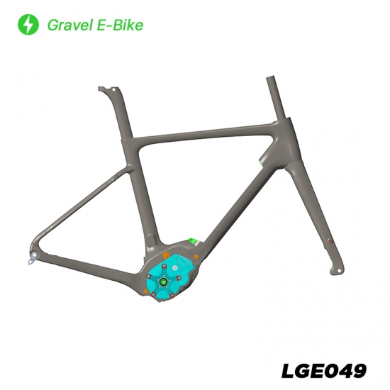 gravel e bike frame