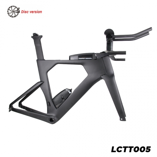 disc brake carbon triathlon frameset