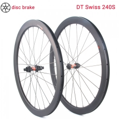 lightcarbon road disc wheelset