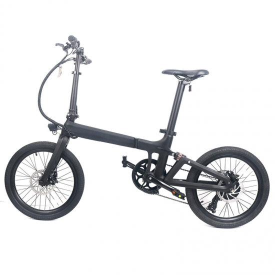 Carbon foldable electric bike LCE-XO
