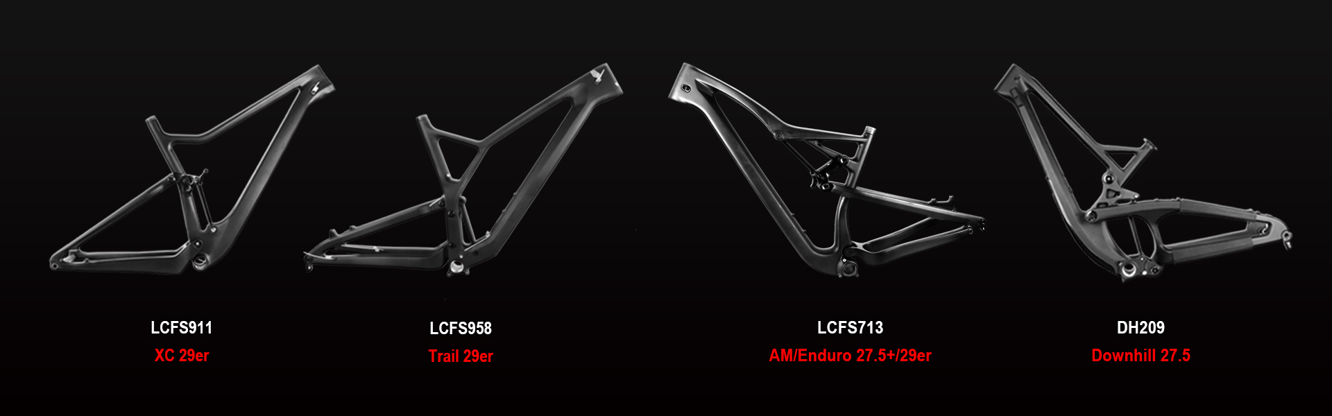 All mountain bike frame you need