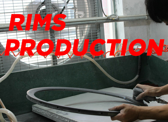 Carbon rims production technology